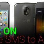 Panduan Mindah SMS iPhone ke Android