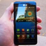 Smartphone Android buatan LG
