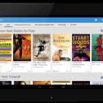 Google Play Books Home - Tablet Baru