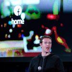Mark memperkenalkan Facebook Home