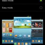 Settings Home Screen Mode