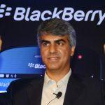 Sunil Lalvani BlackBerry India
