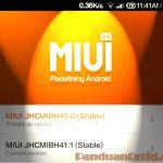 Download Update, Rom Update, Redmi 1S, Xiaomi update