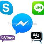 Free Call, Viber, FB Messenger, Skype, BBM, Line, Skype