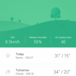 MIUI 8 Public Beta - Weather App