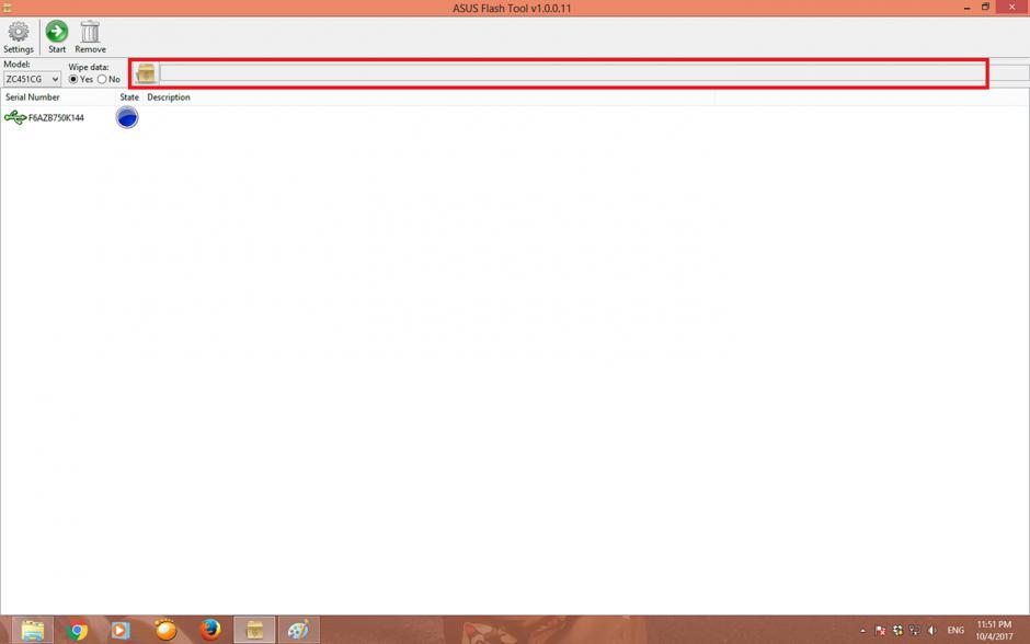 Tampilan Browser