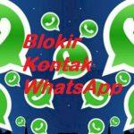 Cara Blokir Kontak Whatsapp 5