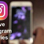 Cara Menyimpan Instagram Stories