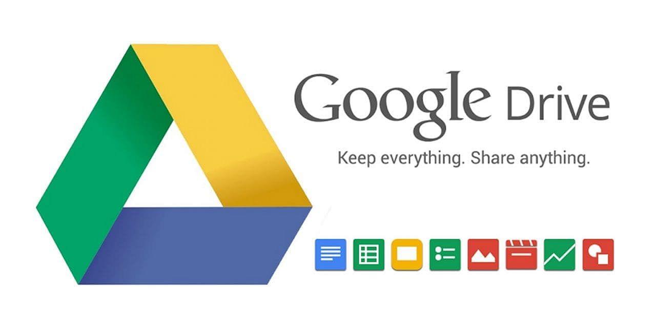 Cara Berbagi link di Google Drive Android