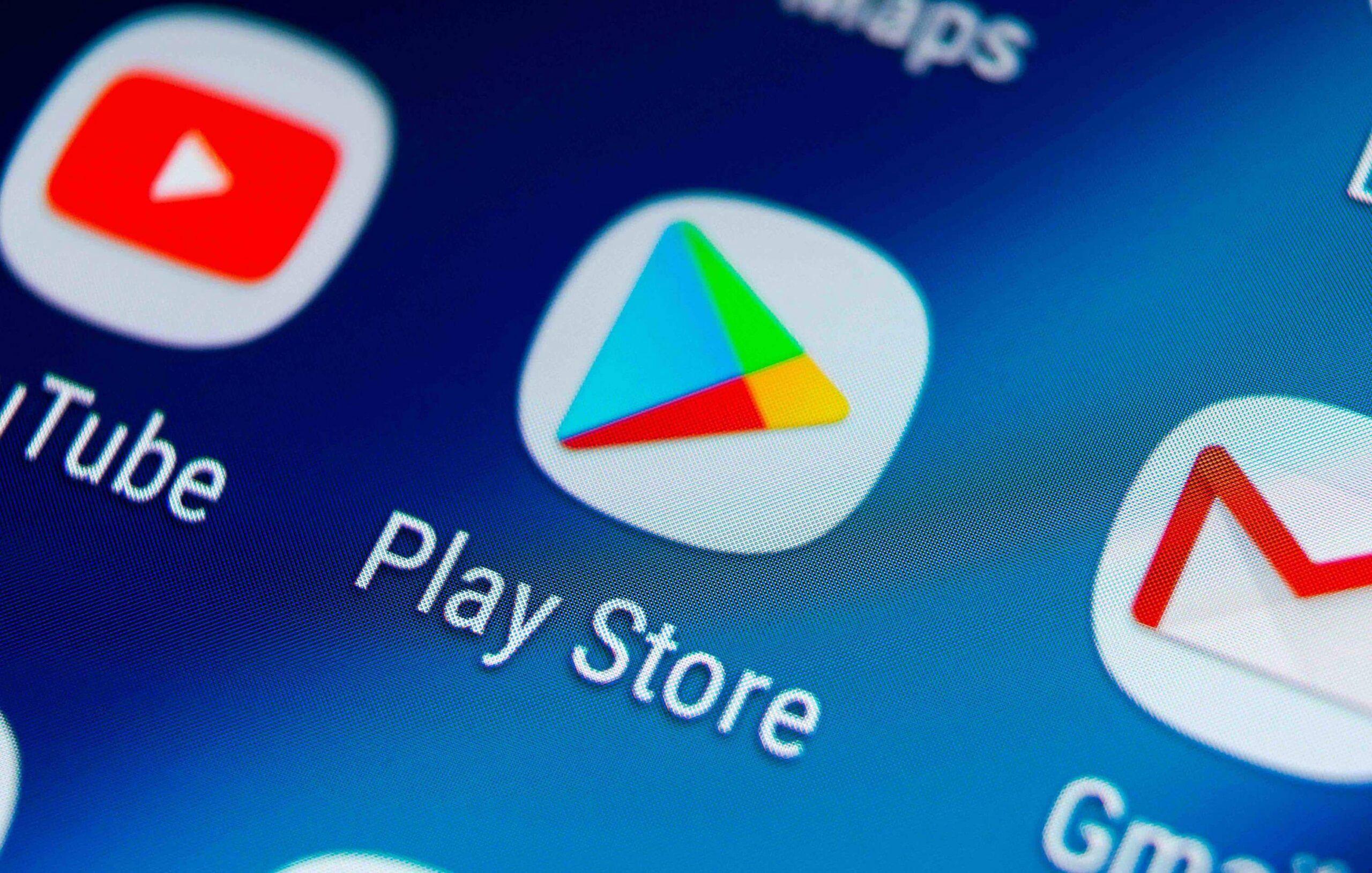 Memperbaiki masalah Google Play Store