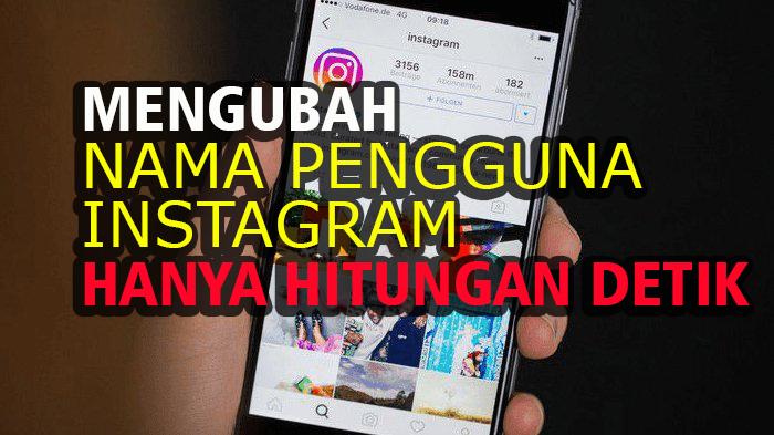 Mengubah Nama Pengguna Instagram